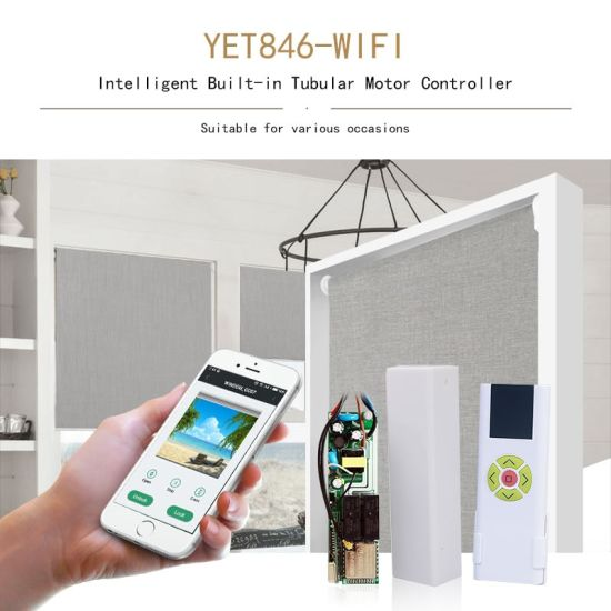Smart WiFi Curtain Blinds Switch Control Roller Shutter