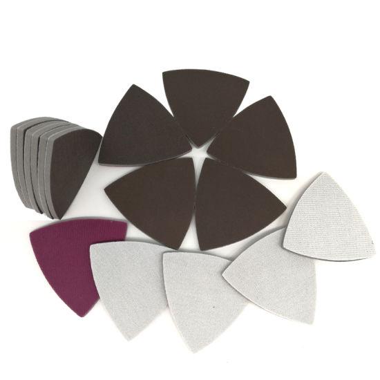 90X90X90mm 300-2000 Grit Hook and Loop Ceramic Sanding Sponge Sandpaper for Polishing and Grinding