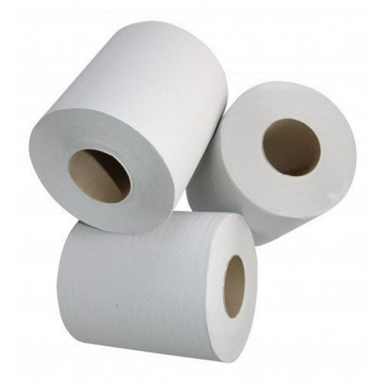 Wholesale 3 Ply Layer Core Bathroom Tissue/Toilet Paper/Toilet Tissue Roll pictures & photos