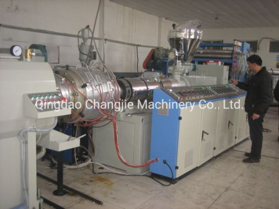 Double Screw PVC Drain-Pipe Extruder Production Line