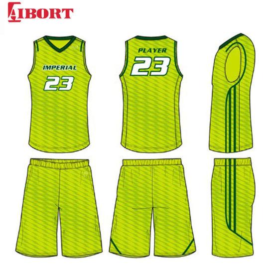 Aibort 2020 Wholesale Unique High End Fashion Quick Dry Breathable Basketball Jersey Design (J-BSK012 (1))