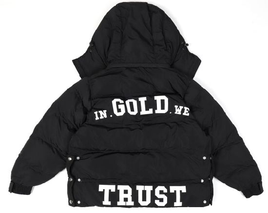Keep Warm Full Zipper and Button up with Detachable Hoodie Men Winter Jacket