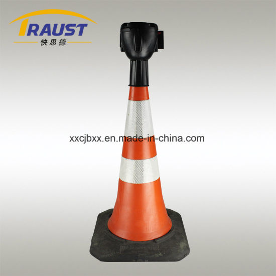 Plastic Cone Cartridge for Outdoor Uses, Road Barriade pictures & photos