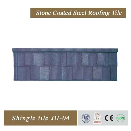 Hot Sale Stone Coated Steel Roofing Tiles Roofing Sheet for Building Material pictures & photos