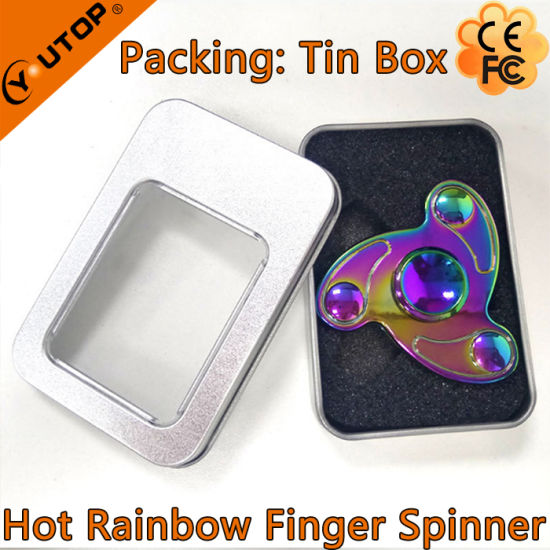 High Quality Swivel Hand Spinner/Finger Spinner for Company Gifts pictures & photos