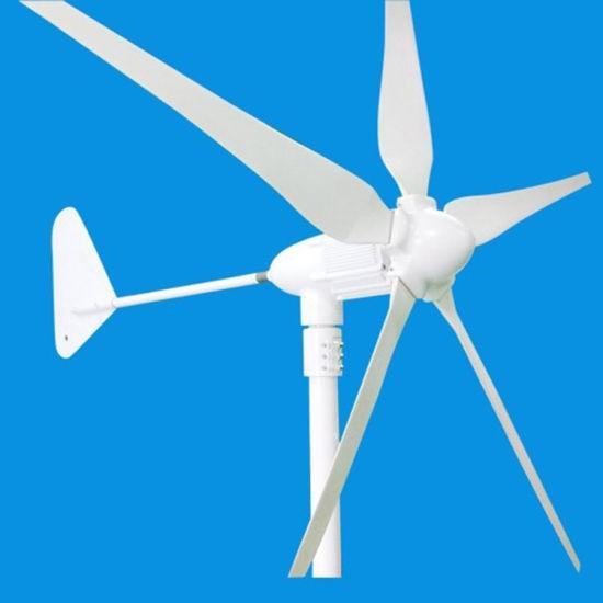 400W Portable Mini 5 Blades Wind Turbine Generator for Hot Sale