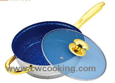 24cm Stainless Steel Frypan pictures & photos