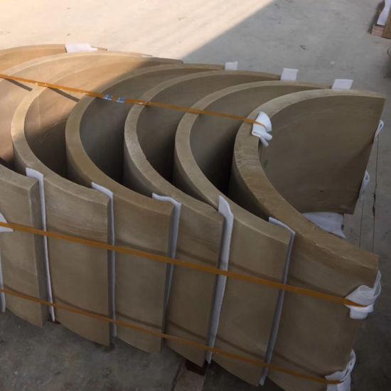 Beige Sandstone Column for Architectural Building Project