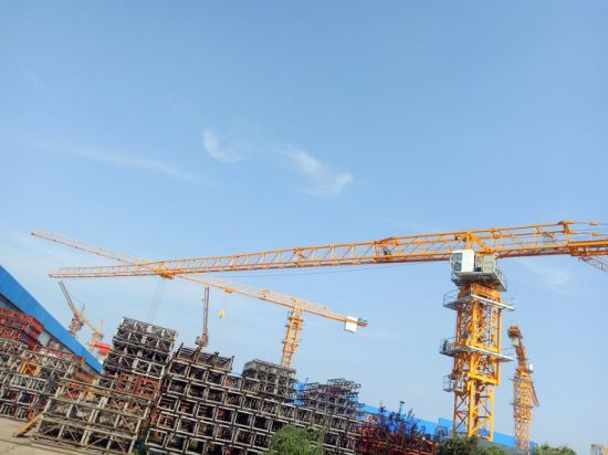 Dahan 10t Qtz160 (7015) Flat Top Tower Crane