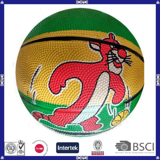Size #6 Rubber Basketball pictures & photos