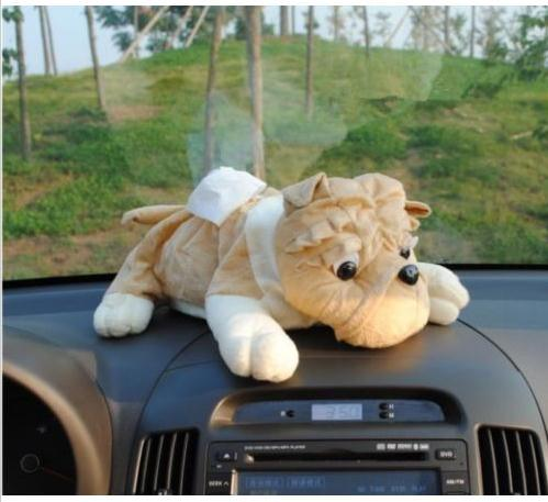 Fashion Lovely Plush Car Cover Tissue Box pictures & photos
