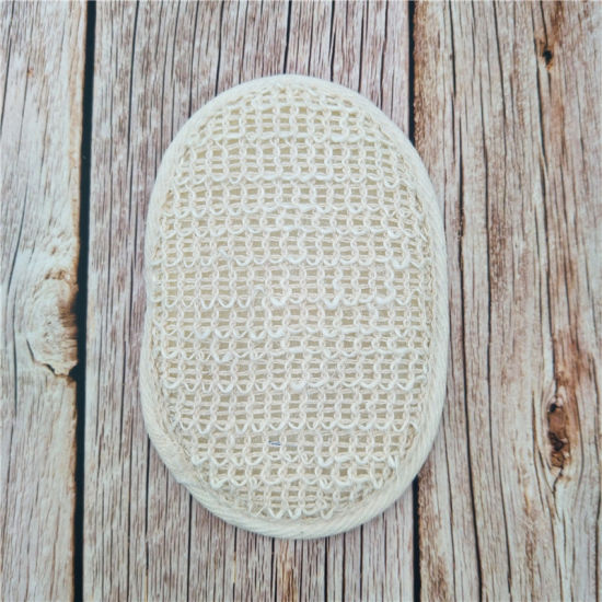Cotton and Linen Fibre Natural Safe Washing Pad