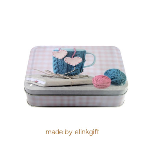 Wholesale Metal Rectangular Tin Box Gift Storage Box for Candy Biscuits Snake Waffle