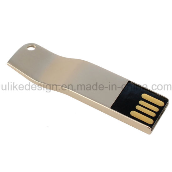 Silver Metal Wave Shape USB Stick USB Flash Drive (UL-M001) pictures & photos