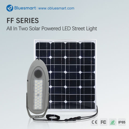 Outdoor LED Solar Street Garden Flood Light 30W