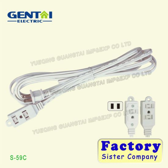 Power Extension Cord Household Powercord Cable Power Cord pictures & photos