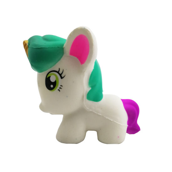 Cute Version of White Unicorn Doll pictures & photos