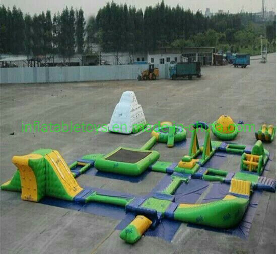 Summer Ocean Floating Commerical Adult Inflatable Floating Water Park