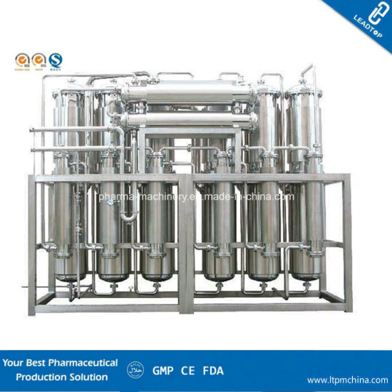 Multi-Colum Distillation Plant for Pharmaceuticals