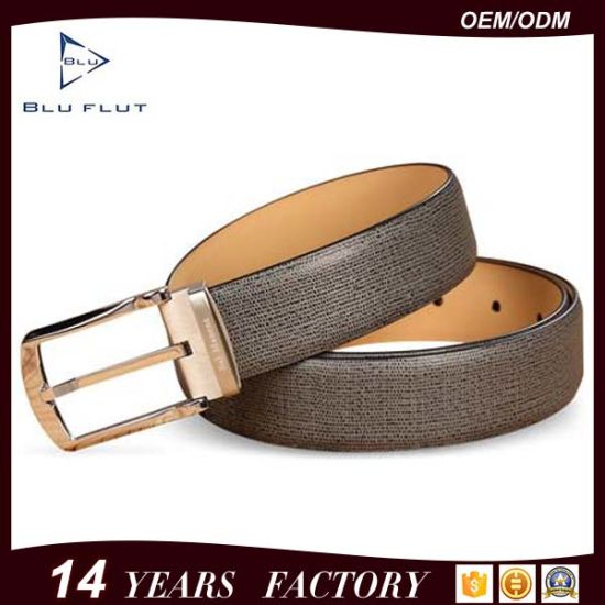 Abrasive Metal Needlepoint Buckle Nickle Free Genuine Cow Leather Belts