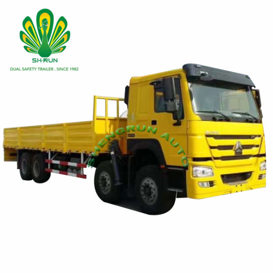 Shengrun Sidewall Bulk Cargo Semi Truck Trailer pictures & photos