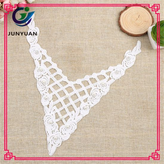 China Handmade Crochet Lace Collar Hot Selling China Lace Collar