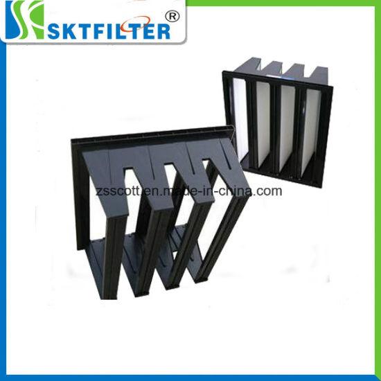China Air Filter Custom Plastic Frames for V Bank Filter - China ...