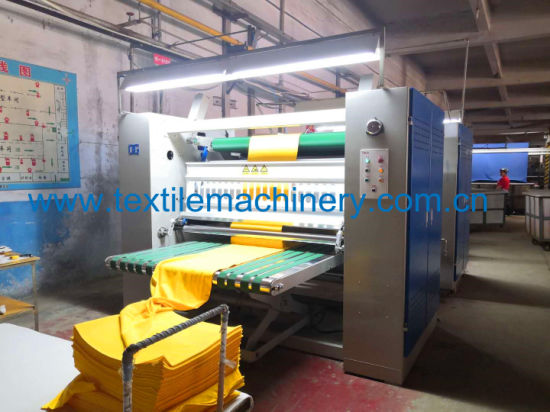 Tubualr Knitted Fabric Compacting Machine of Textile Machinery