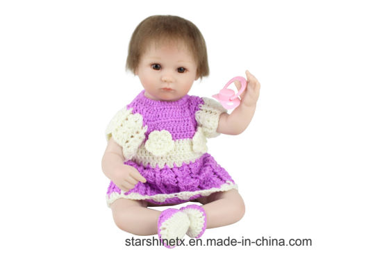 8e2d55fdaee0 China High Quality 16 Inch Reborn Baby Dolls for Toys - China Reborn ...