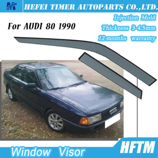 Car Parts 100 Matched Window Visors Door Visor For Audi 80 1990