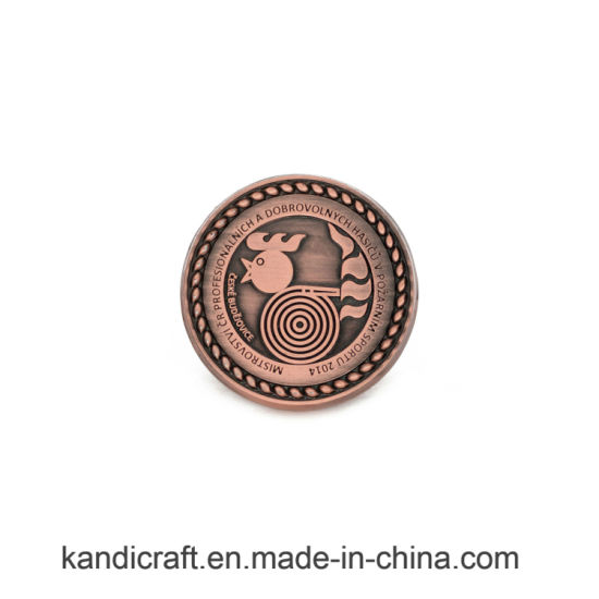 Promotion China Custom Award Gold Souvenir Coin Coin RFID Tag Tag Capsules pictures & photos