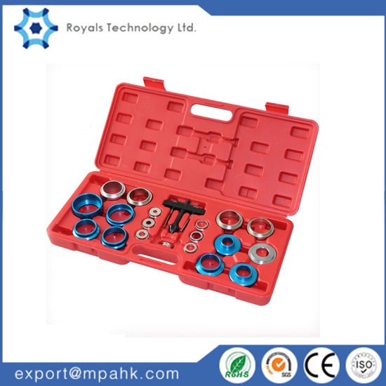Universal 20pc Crank Oil Seal Remover Kit Crankshaft Puller Adaptor Car Tool Kit
