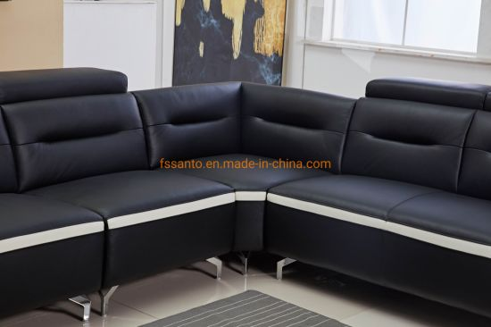 Groovy Modern Fashion Sectional Sofa Set Corner Style Leather Sofa Cjindustries Chair Design For Home Cjindustriesco