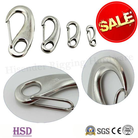 Factory Wholesale Stainless Steel304/316 Eye Spring Eye Hook