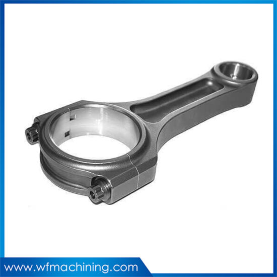 OEM Customized Steel Forging Engine Parts of Connecting Rod
