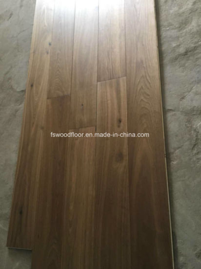 Smoked Oiled European Oak Engineered Wood Flooring pictures & photos