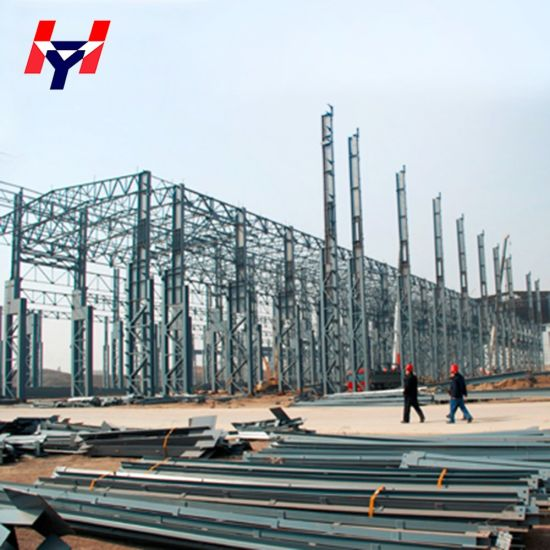 Light Prefabricated Fabrication Pre-Engineered Steel Structure for Workshop and Warehouse