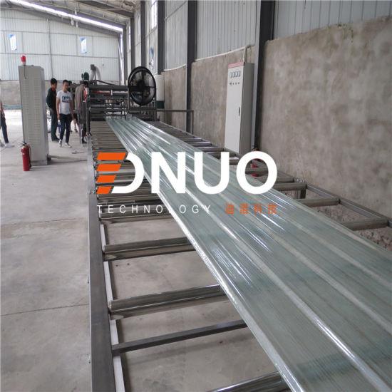 1.5m Wide FRP Corrugated Lighting Sheet Making Machine