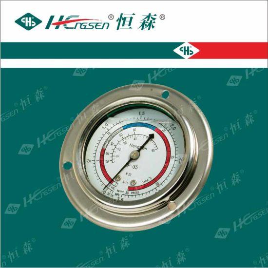 Bzy Manometer/Liquid Refrigeration Pressure Gauge/Refrigeration Fittings