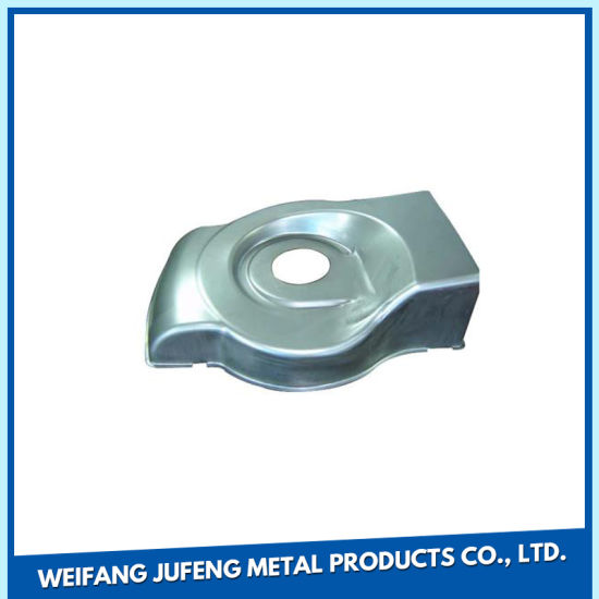 Stainless Steel Air Conditioning Stamping Parts with Zinc Plating