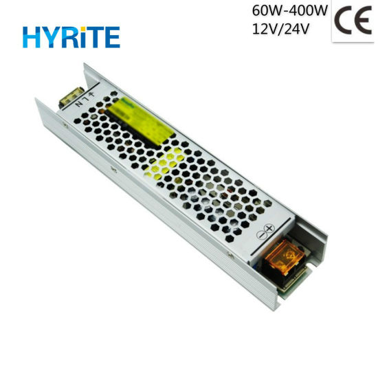 Ce 100W 12V 24V Indoor SMPS Slim Size LED Driver