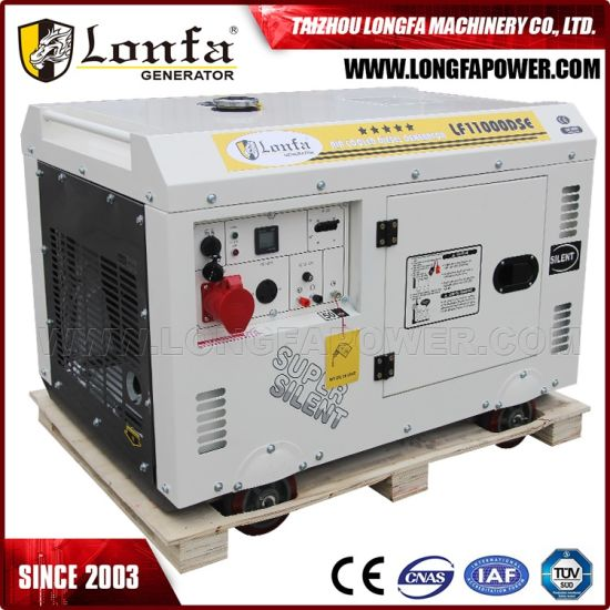 China 10kva 10kw 3 Phase Air Cool Silent Diesel Generator China 10kva Diesel Generator 15kva Diesel Generator