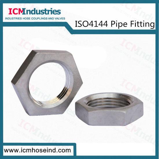 ISO4144 Stainless Steel Hex Lock Pipe Fittings