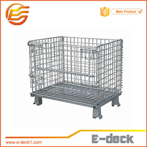 Popular Steel Wire Mesh Contaer Cage Yd-Wl-L-1
