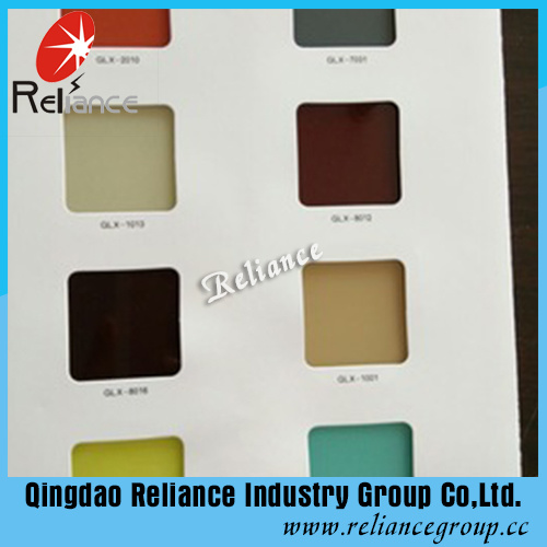4mm/5mm/6mm/8mm Back Painted Glass / Back Color Glass / White Painted Glass /Black Painted Glass /Painted Decoration Glass pictures & photos