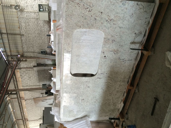 River Water White Granite Stone Countertops for Kitchen, Bathroom pictures & photos