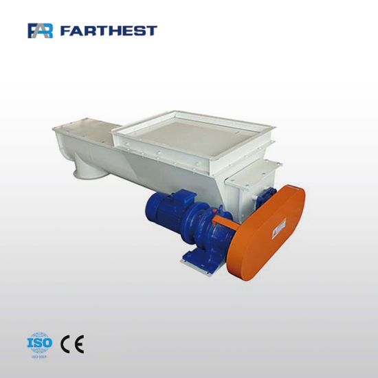 Rabbit Feed Factory Using Automatic Feeder