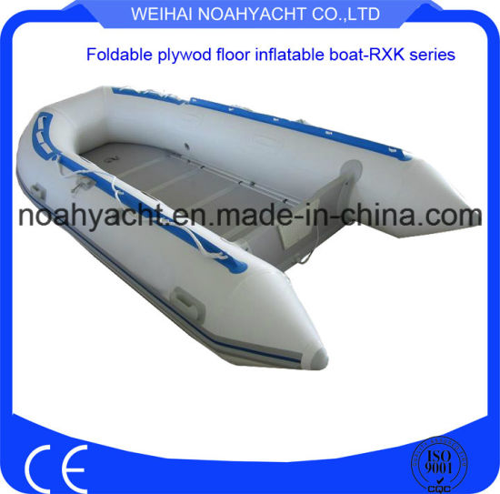 Water Sports Inflatable Fishing Boats with Small Outboard Motors / Engines pictures & photos