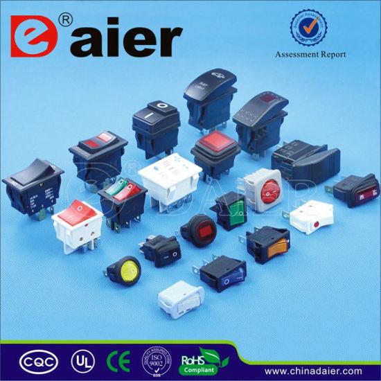 China 12V LED 3 Boat Rocker Switch Panels/Marine Circuit