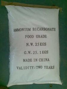 High Quality Ammonium Bicarbonate Food Grade